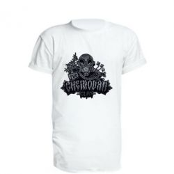 Удлиненная футболка Chemodan Clan Art
