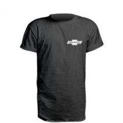 Подовжена футболка Chevrolet Logo Small