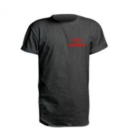 Подовжена футболка Chevrolet Small