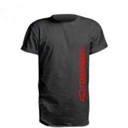 Удлиненная футболка Chevrolet  Vert