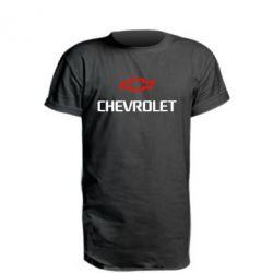 Удлиненная футболка CHEVROLET