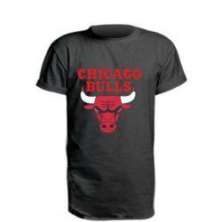Удлиненная футболка Chicago Bulls Classic