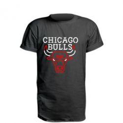 Подовжена футболка Chicago Bulls Logo