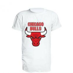 Подовжена футболка Chicago Bulls vol.2