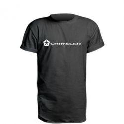 Подовжена футболка Chrysler Logo