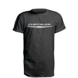 Удлиненная футболка Chrysler