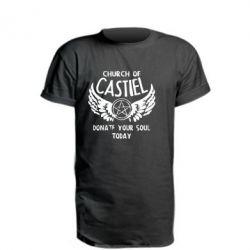 Подовжена футболка Church of Castel