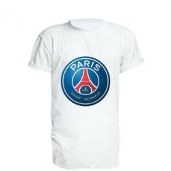 Удлиненная футболка Club psg