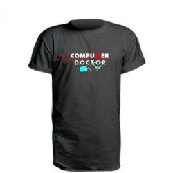 Подовжена футболка Computer Doctor