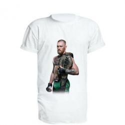 Купить Удлиненная футболка Conor McGregor Belt, FatLine