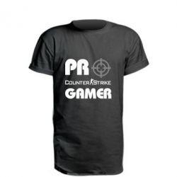 Удлиненная футболка Counter Strike Pro Gamer - FatLine