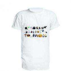Купить Удлиненная футболка Dark Souls, FatLine