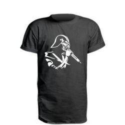 Подовжена футболка Дарт Вейдер караоке