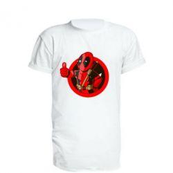 Удлиненная футболка Deadpool Fallout Boy