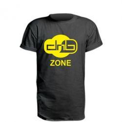 Удлиненная футболка DnB Zone