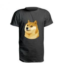 Подовжена футболка Doge