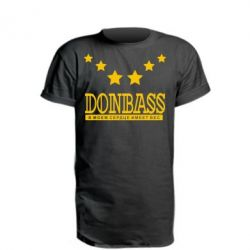 Подовжена футболка Donbass