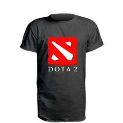 Удлиненная футболка Dota 2 Big Logo