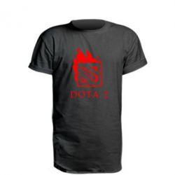 Подовжена футболка Dota 2 Fire