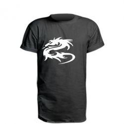 Подовжена футболка Дракон