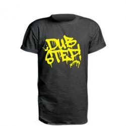 Удлиненная футболка Dub Step Граффити - FatLine