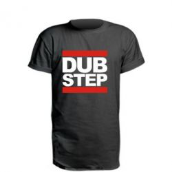 Удлиненная футболка Dub Step - FatLine