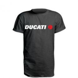 Подовжена футболка Ducati
