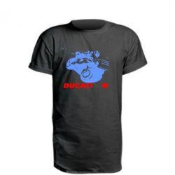 Подовжена футболка Dukati