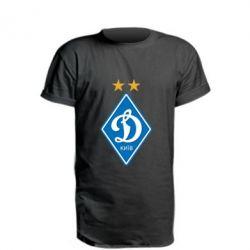 Удлиненная футболка Dynamo Kiev