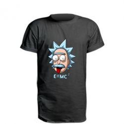 Подовжена футболка E=MC 2