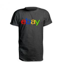 Подовжена футболка Ebay