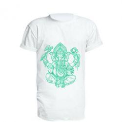 Купить Удлиненная футболка Elephant of India, FatLine