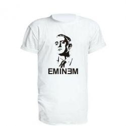 Удлиненная футболка Eminem Logo