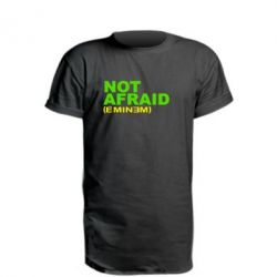 Подовжена футболка Eminem Not Afraid