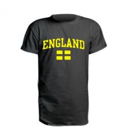 Подовжена футболка England