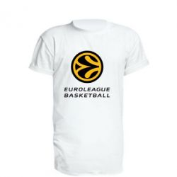 Удлиненная футболка Euroleague Basketball