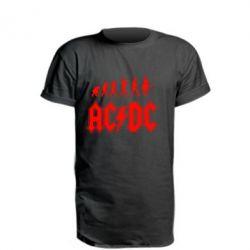 Подовжена футболка Еволюція AC\DC