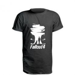 Удлиненная футболка Fallout 4 Art