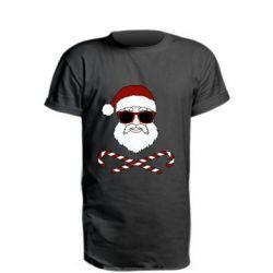 Подовжена футболка Fashionable Santa