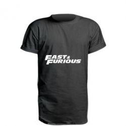 Подовжена футболка Fast & Furious