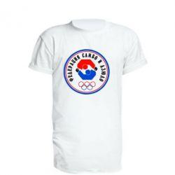 Подовжена футболка Федерація Самбо і Дзюдо