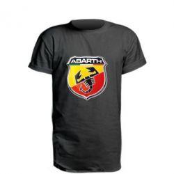 Удлиненная футболка FIAT Abarth