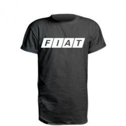 Удлиненная футболка Fiat