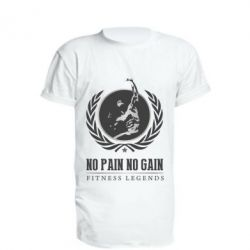Удлиненная футболка Fitness Legends