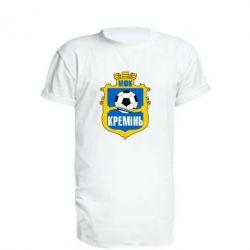 Удлиненная футболка ФК Кремень Кременчуг - FatLine