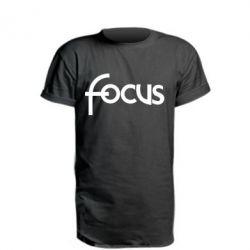 Подовжена футболка Focus