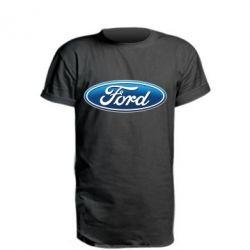 Удлиненная футболка Ford 3D Logo