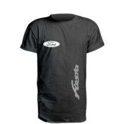 Купить Удлиненная футболка Ford Fiesta, FatLine