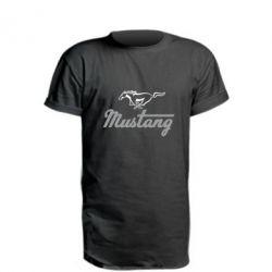 Удлиненная футболка Ford Mustang