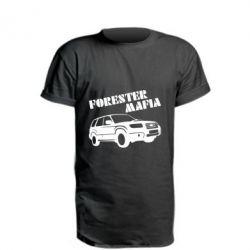 Удлиненная футболка Forester Mafia